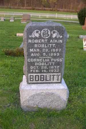 "BOBLITT, CORNELIA ""PUSS"" - Ross County, Ohio | CORNELIA ""PUSS"" BOBLITT - Ohio Gravestone Photos"