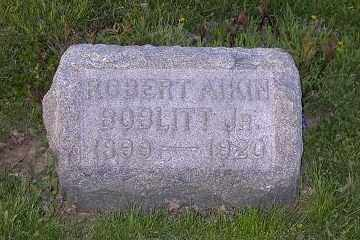BOBLITT, ROBERT AIKIN JR. - Ross County, Ohio | ROBERT AIKIN JR. BOBLITT - Ohio Gravestone Photos