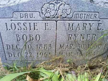 RYNER, MARY E. - Ross County, Ohio | MARY E. RYNER - Ohio Gravestone Photos