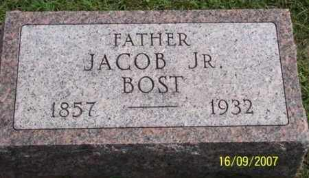 BOST, JACOB JR. - Ross County, Ohio | JACOB JR. BOST - Ohio Gravestone Photos