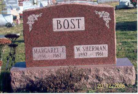 BOST, W. SHERMAN - Ross County, Ohio | W. SHERMAN BOST - Ohio Gravestone Photos