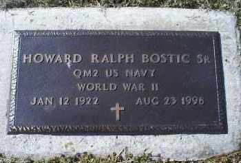 BOSTIC, HOWARD RALPH SR. - Ross County, Ohio | HOWARD RALPH SR. BOSTIC - Ohio Gravestone Photos