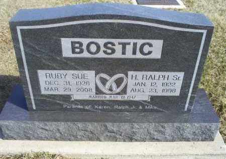 BOSTIC, H. RALPH SR. - Ross County, Ohio | H. RALPH SR. BOSTIC - Ohio Gravestone Photos