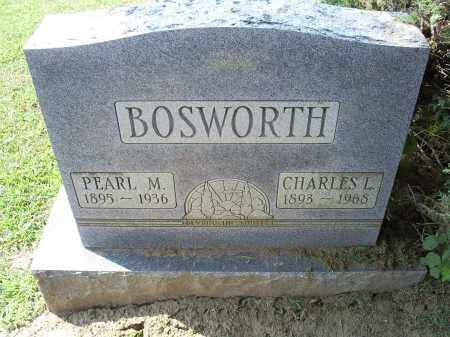 BOSWORTH, PEARL M - Ross County, Ohio | PEARL M BOSWORTH - Ohio Gravestone Photos