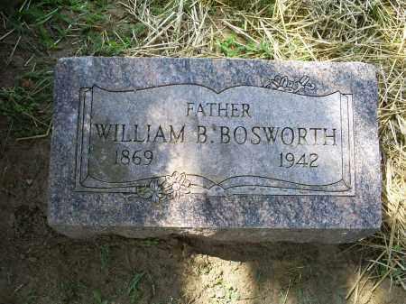 BOSWORTH, WILLIAM B. - Ross County, Ohio | WILLIAM B. BOSWORTH - Ohio Gravestone Photos