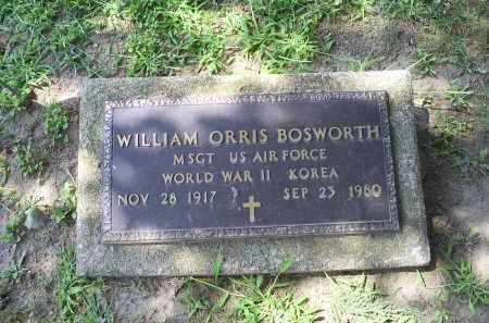 BOSWORTH, WILLIAM ORRIS - Ross County, Ohio | WILLIAM ORRIS BOSWORTH - Ohio Gravestone Photos