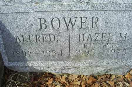 BOWER, HAZEL M. - Ross County, Ohio | HAZEL M. BOWER - Ohio Gravestone Photos