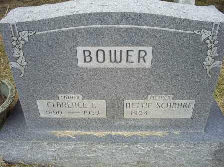 BOWER, CLARENCE E. - Ross County, Ohio | CLARENCE E. BOWER - Ohio Gravestone Photos