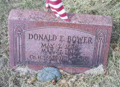 BOWER, DONALD E. - Ross County, Ohio | DONALD E. BOWER - Ohio Gravestone Photos
