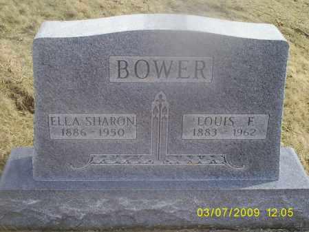 BOWER, ELLA SHARON - Ross County, Ohio | ELLA SHARON BOWER - Ohio Gravestone Photos