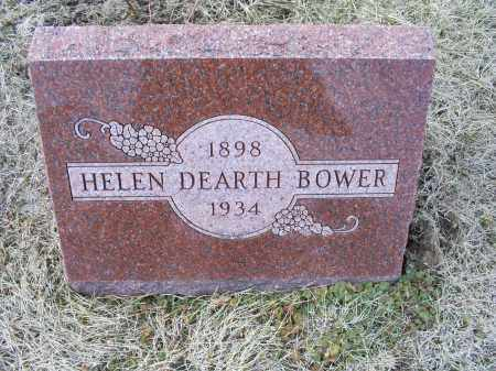 BOWER, HELEN - Ross County, Ohio | HELEN BOWER - Ohio Gravestone Photos