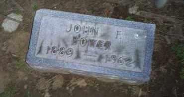 BOWER, JOHN F. - Ross County, Ohio | JOHN F. BOWER - Ohio Gravestone Photos