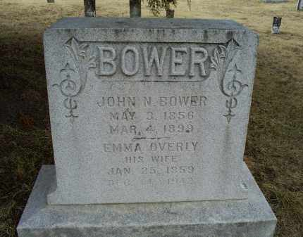 OVERLY BOWER, EMMA - Ross County, Ohio | EMMA OVERLY BOWER - Ohio Gravestone Photos