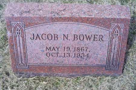 BOWER, JACOB N. - Ross County, Ohio | JACOB N. BOWER - Ohio Gravestone Photos