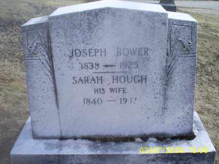 BOWER, SARAH - Ross County, Ohio | SARAH BOWER - Ohio Gravestone Photos