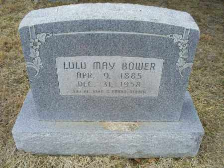 BOWER, LULU MAY - Ross County, Ohio | LULU MAY BOWER - Ohio Gravestone Photos