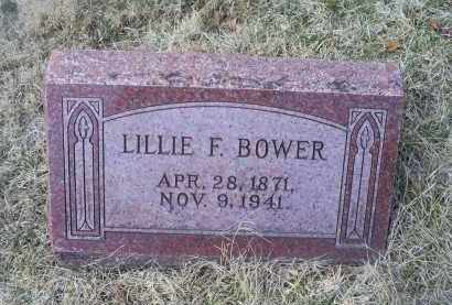 BOWER, LILLIE F. - Ross County, Ohio | LILLIE F. BOWER - Ohio Gravestone Photos