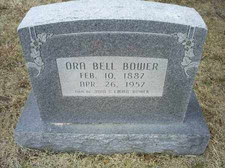 BOWER, ORA BELL - Ross County, Ohio | ORA BELL BOWER - Ohio Gravestone Photos