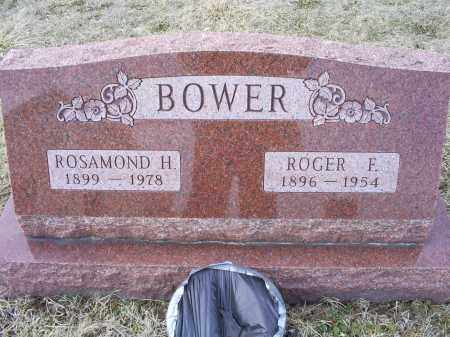 BOWER, ROGER F. - Ross County, Ohio | ROGER F. BOWER - Ohio Gravestone Photos