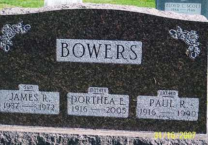 BOWERS, DORTHEA E. - Ross County, Ohio | DORTHEA E. BOWERS - Ohio Gravestone Photos