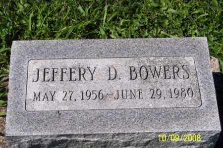 BOWERS, JEFFERY D. - Ross County, Ohio | JEFFERY D. BOWERS - Ohio Gravestone Photos