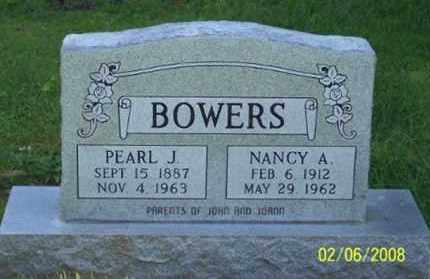 BOWERS, PEARL J. - Ross County, Ohio | PEARL J. BOWERS - Ohio Gravestone Photos
