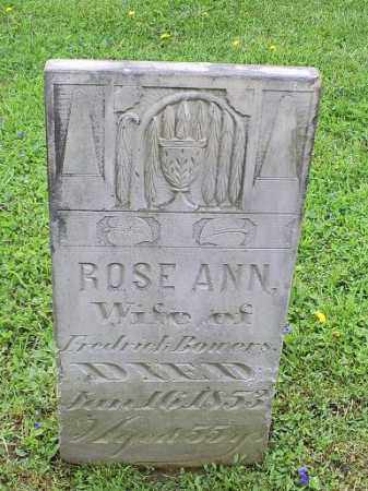 BOWERS, ROSE ANN - Ross County, Ohio | ROSE ANN BOWERS - Ohio Gravestone Photos