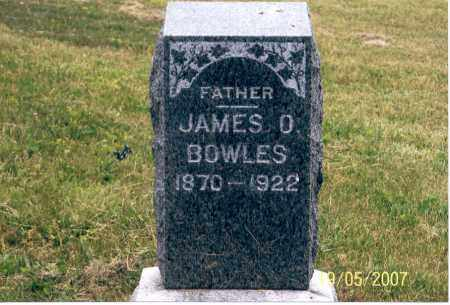 BOWLES, JAMES O. - Ross County, Ohio | JAMES O. BOWLES - Ohio Gravestone Photos