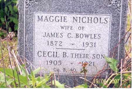 BOWLES, CECIL B. - Ross County, Ohio | CECIL B. BOWLES - Ohio Gravestone Photos