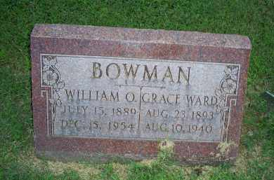 WARD BOWMAN, GRACE - Ross County, Ohio | GRACE WARD BOWMAN - Ohio Gravestone Photos