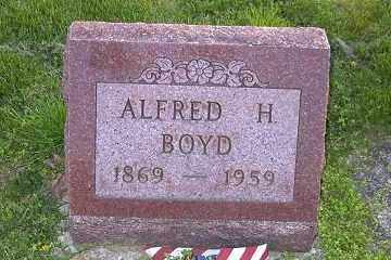 BOYD, ALFRED H. - Ross County, Ohio | ALFRED H. BOYD - Ohio Gravestone Photos