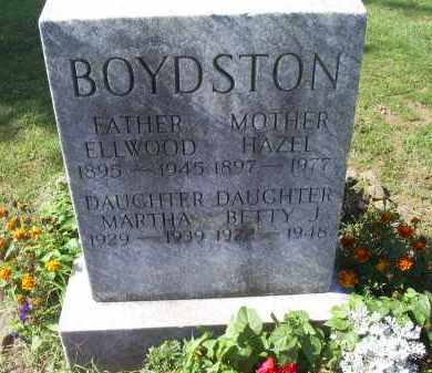 BOYDSTON, BETTY J. - Ross County, Ohio | BETTY J. BOYDSTON - Ohio Gravestone Photos