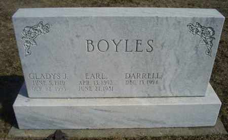 BOYLES, EARL - Ross County, Ohio | EARL BOYLES - Ohio Gravestone Photos