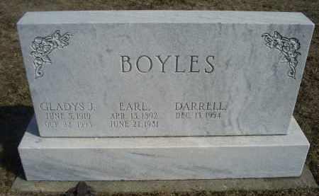 BOYLES, GLADYS J. - Ross County, Ohio | GLADYS J. BOYLES - Ohio Gravestone Photos