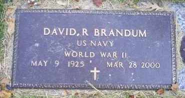 BRANDUM, DAVID R. - Ross County, Ohio | DAVID R. BRANDUM - Ohio Gravestone Photos