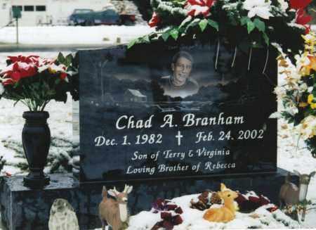 BRANHAM, CHAD A. - Ross County, Ohio | CHAD A. BRANHAM - Ohio Gravestone Photos