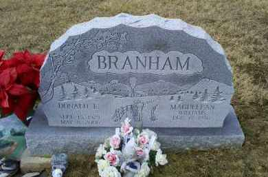 BRANHAM, DONALD E. - Ross County, Ohio | DONALD E. BRANHAM - Ohio Gravestone Photos