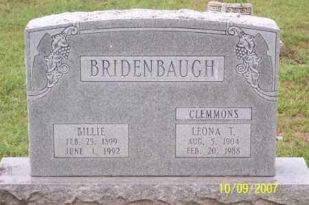 BRIDENBAUGH, LEONA T. - Ross County, Ohio | LEONA T. BRIDENBAUGH - Ohio Gravestone Photos