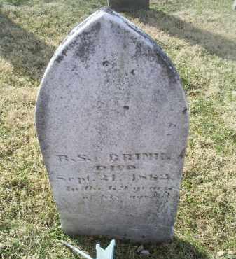 BRINK, R. S. - Ross County, Ohio   R. S. BRINK - Ohio Gravestone Photos