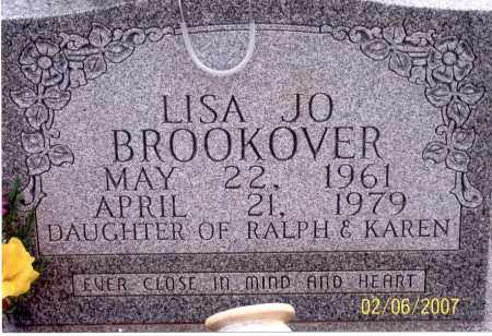 BROOKOVER, LISA JO - Ross County, Ohio | LISA JO BROOKOVER - Ohio Gravestone Photos