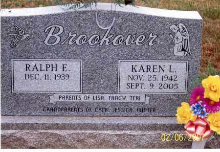 BROOKOVER, KAREN L. - Ross County, Ohio | KAREN L. BROOKOVER - Ohio Gravestone Photos
