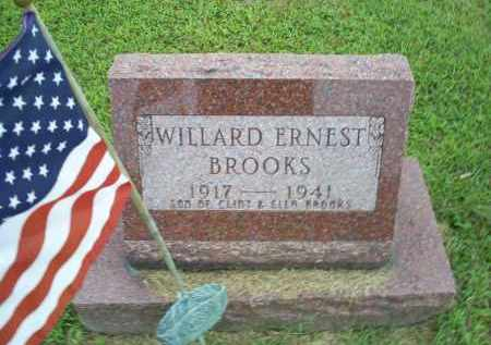 BROOKS, WILLARD ERNEST - Ross County, Ohio | WILLARD ERNEST BROOKS - Ohio Gravestone Photos