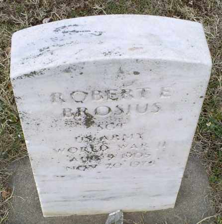 BROSIUS, ROBERT E. - Ross County, Ohio | ROBERT E. BROSIUS - Ohio Gravestone Photos