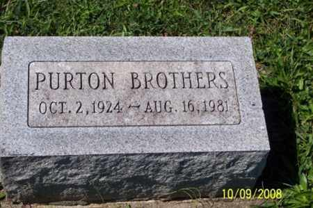 BROTHERS, PURTON - Ross County, Ohio | PURTON BROTHERS - Ohio Gravestone Photos