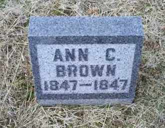 BROWN, ANN C. - Ross County, Ohio | ANN C. BROWN - Ohio Gravestone Photos