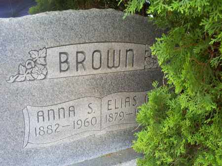 BROWN, ANNA S. - Ross County, Ohio | ANNA S. BROWN - Ohio Gravestone Photos