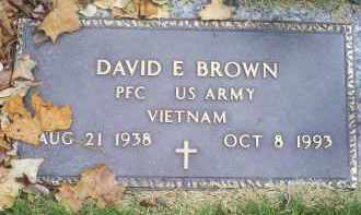 BROWN, DAVID E. - Ross County, Ohio | DAVID E. BROWN - Ohio Gravestone Photos