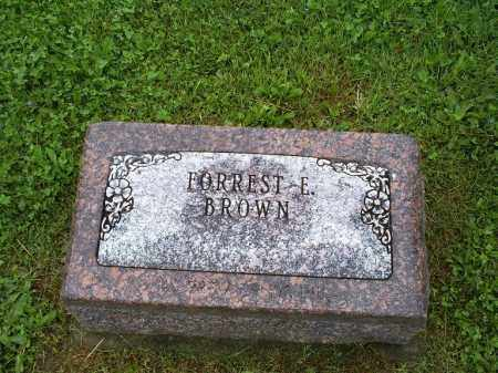 BROWN, FORREST E. - Ross County, Ohio | FORREST E. BROWN - Ohio Gravestone Photos