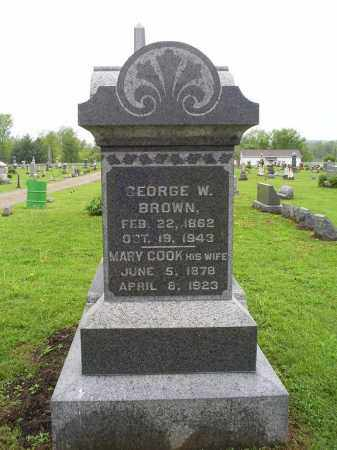 BROWN, GEORGE W. - Ross County, Ohio | GEORGE W. BROWN - Ohio Gravestone Photos