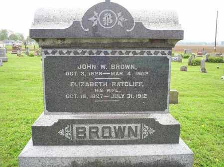 BROWN, ELIZABETH - Ross County, Ohio | ELIZABETH BROWN - Ohio Gravestone Photos